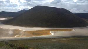 Meke Gölü, Kurudu