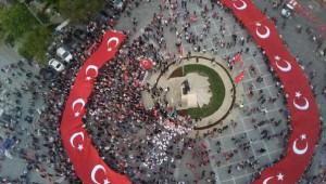 Silivri'deki 'Gençlik Yürüyüşü' Büyük İlgi Gördü