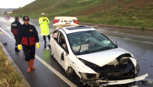 Çorum'da Trafik Kazası: 1 Yaralı