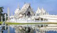 Tayland'ın Beyaz Tapınağı Görenleri Hayran Bırakıyor