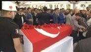 Şehit Polislerin Cenazesinde Gergin Anlar