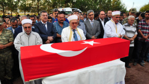 Osmaniye'li Şehit Ökkeş Özdemir Toprağa Verildi