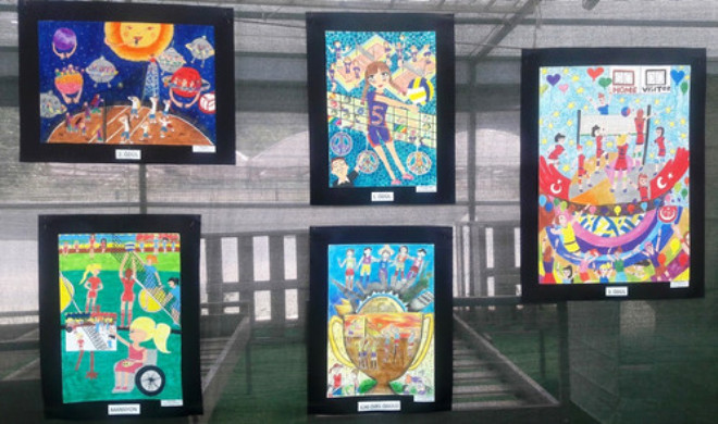Voleybol Eğitim Vakfı Resim Yarışması 2016