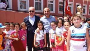Dursunbey'de 6360 Öğrenci Karne Aldı