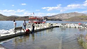 Yamula Baraj Gölüne Yüzme Havuzu Yapıldı