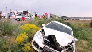 Sandıklı'da Trafik Kazası: 1 Ölü, 4 Yaralı
