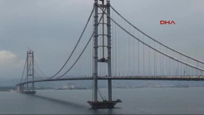 Osman Gazi Köprüsü Açılışa Hazır