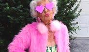 87 Yaşındaki Instagram Fenomeni: Helen Van Winkle