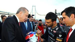 Kenan Sofuoğlu'ndan Erdoğan ve Yıldırım'a Sürpriz