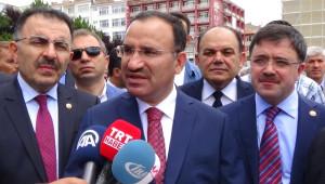 Bakan Bozdağ'dan Terörle Mücadelede Kararlılık Vurgusu