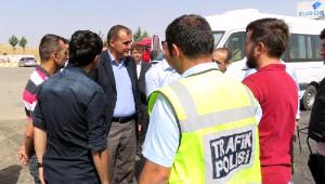 Midyat Kaymakamı Bingöl'den Asker, Polis ve Koruculara Bayram Ziyareti
