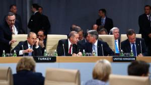Cumhurbaşkanı Erdoğan, NATO Zirvesi Akşam Yemeğine Katıldı