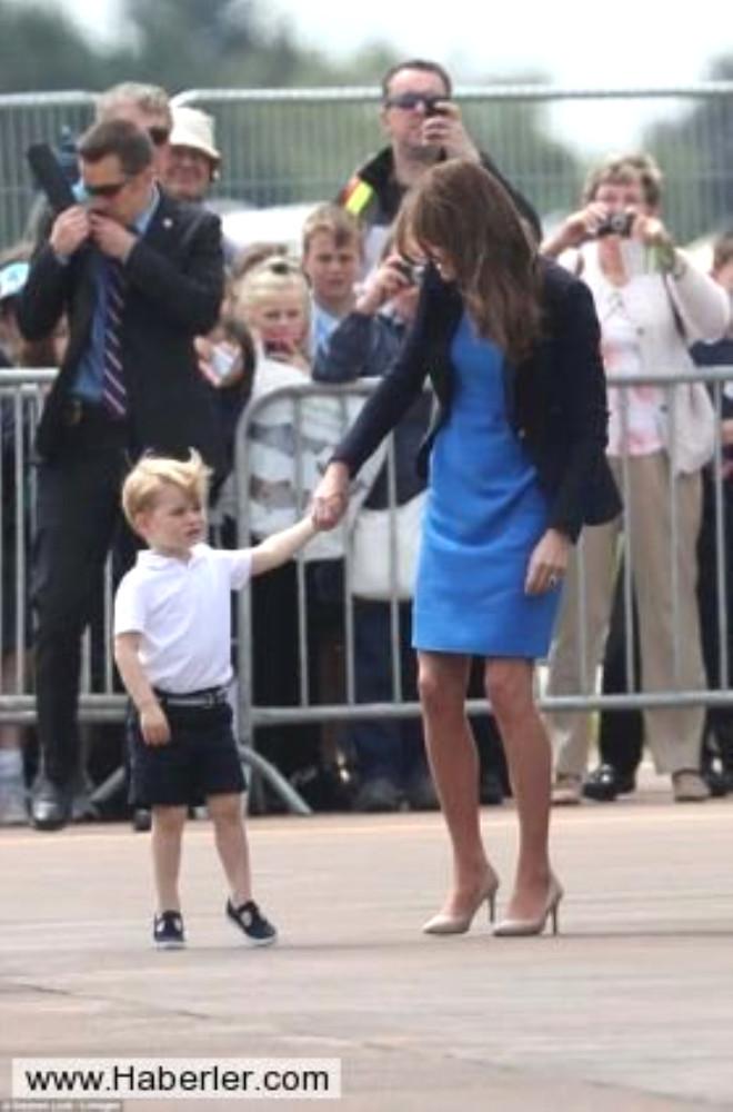 Küçük Prens Uçak Gösterisinin İlgi Odağı Oldu