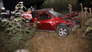 Saruhanlı'da Kaza: 2 Ölü, 4 Yaralı