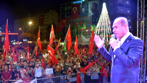MHP'li Sözlü, Demokrasi Nöbetinde