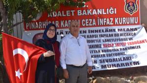 Cumhurbaşkanı Erdoğan İçin Pınarhisar Cezaevi Önünde 10 Kurban Kesildi