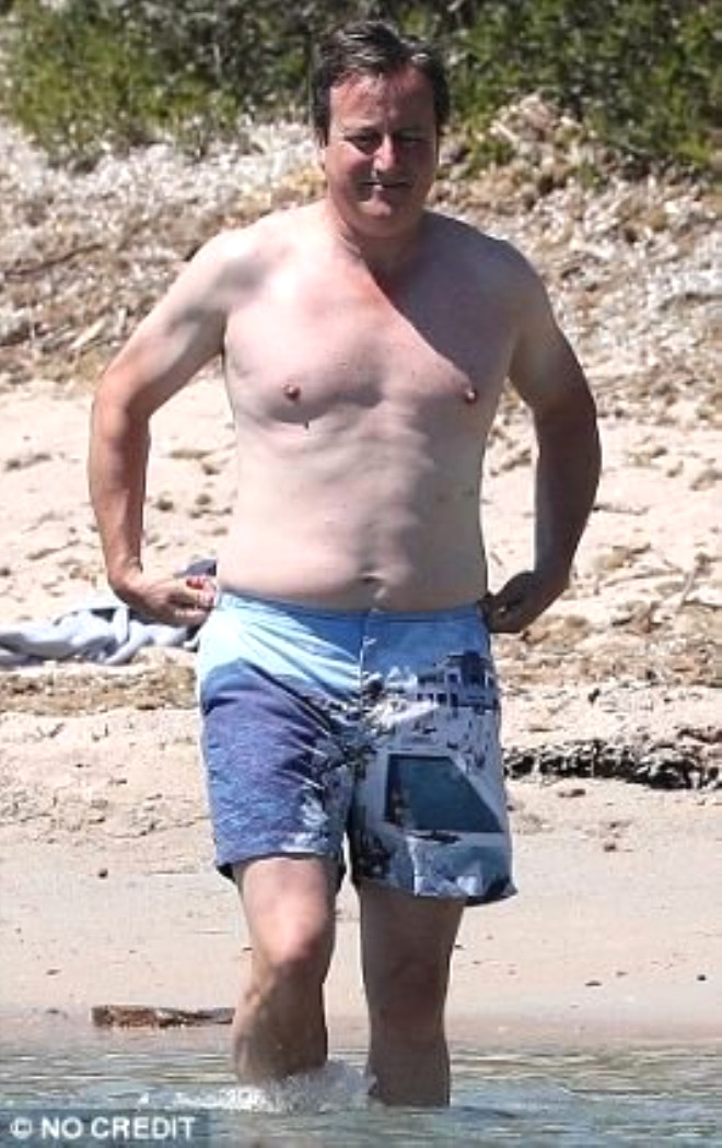 Eski Başbakan David Cameron'ın 60 Bin TL'lik Tatili