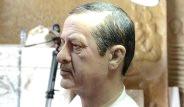 Topladığı Saçlarla Cumhurbaşkanının Heykelini Yaptı