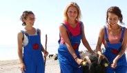 3 Üniversiteli Kız Lisinia'da Gönüllü Çoban Oldu
