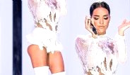 Bengü Harbiye Konserinde Altına Sadece İç Çamaşırı Giydi