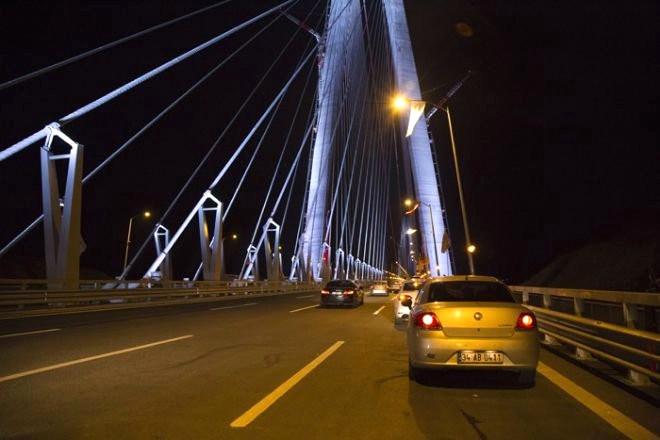 Yavuz Sultan Selim Köprüsü'nde Fotoğraf Çekme Yarışı