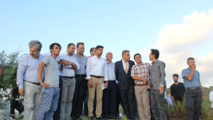 Dünya Barış Günü'nü Suriye Sınırında Zeytin Fidanı Dikerek Kutladılar