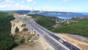 Ücretli Geçişin İlk Gününde Yavuz Sultan Selim Köprüsü ve Otoyollar