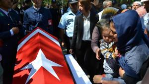 Şehit Uzman Çavuş Kadir Çelebi, Kayseri'de Toprağa Verildi