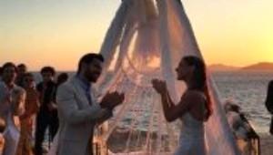 Pia Hakko ile Kerim Yeşil'in Mikonos'taki Muhteşem Düğünü