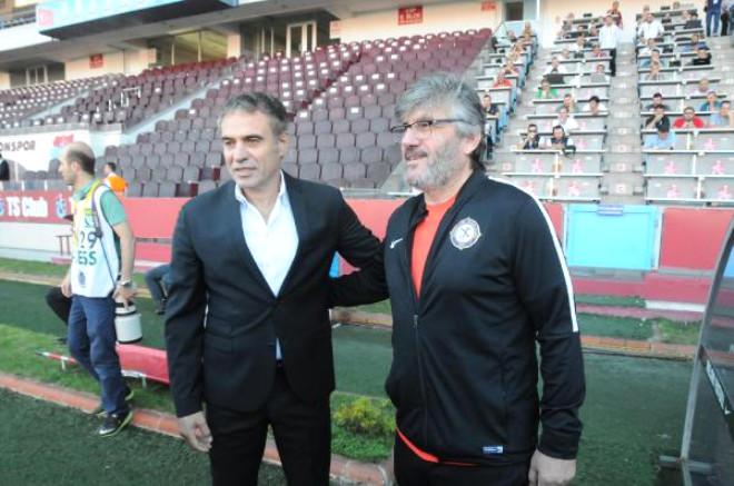 Trabzonspor-Osmanlıspor Fotoğrafları