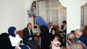 Cumhurbaşkanı Erdoğan 15 Temmuz Şehit Ailelerini Ziyaret Etti