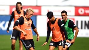 Beşiktaş, Dinamo Kiev Maçı Hazırlıklarına Başladı