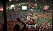 İspanya'da 'İnsan Kuleleri' Yarıştı