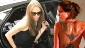 Brad Pitt'i Hatırlatan Dövmelerini Sildirmek İstiyor
