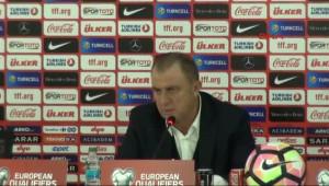 Türkiye Futbol Direktörü Fatih Terim Açıklamalarda Bulundu-3-