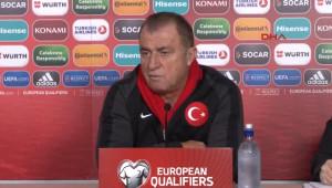 Türkiye Futbol Direktörü Fatih Terim Bu Hava Şartları Altında Maçın Favorisi Çok Açık-2-