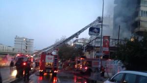 Kartal'da Korkutan Yangın