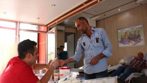 Ceylanpınar'da Kan Bağışına Yoğun İlgi