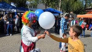 Çakırbeyli Köy Pazarı'nda Şenlik Havası Yaşanıyor