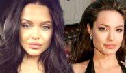 Angelina Jolie'ye İkizi Gibi Benzeyen Güzelin 25 Fotoğrafı