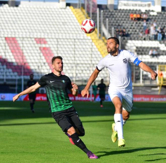 Akhisar Belediyespor-Nazilli Belediyespor Fotoğrafları (Ziraat Türkiye Kupası)