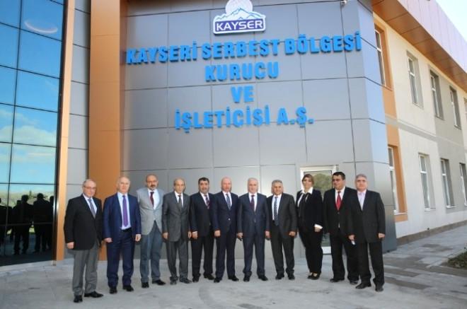 Başkan Büyükkılıç: 'Serbest Bölge İç Anadolu'nun Ekonomisine Yön Veriyor'