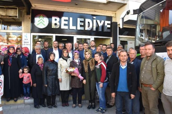 Dursunbey AK Parti Havran Teşkilatını Ağırladı