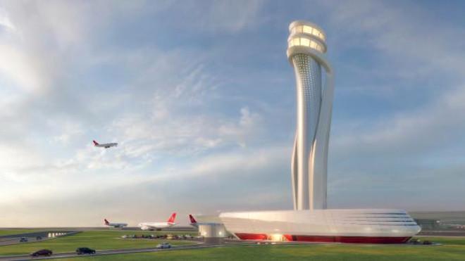 Ek Fotoğraflar // Bakan Arslan, Yeni Havalimanı Hava Trafik Kontrol Kulesi Temel Atma Törenine...