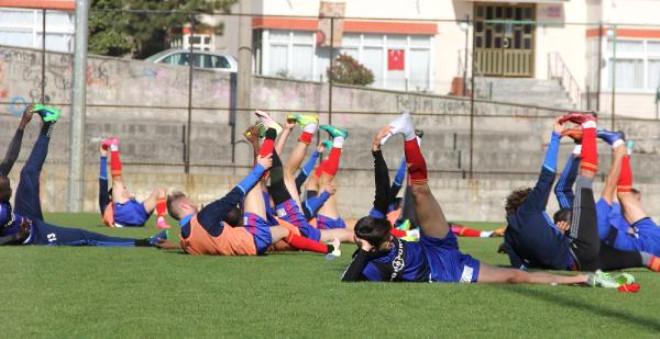 Kardemir Karabükspor, Fenerbahçe Hazırlıklarını Sürdürdü