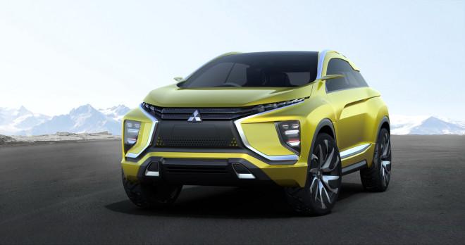Mitsubishi Ex-Concept Los Angeles'da