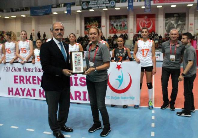 Bursa Büyükşehir Belediyespor-Eczacıbaşı/fotoğraflar