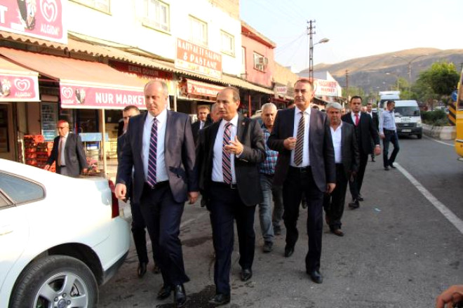 CHP'li İnce: Çatışma Nedeniyle Sorunu Tartışamıyoruz