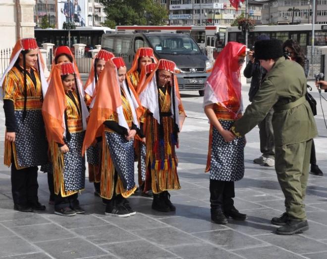 Cumhuriyet Eğitim Treni Sivas'a Geldi