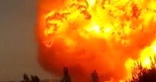 Son Dakika! Doğubayazıt'ta Doğal Gaz Boru Hattında Patlama Yaşandı